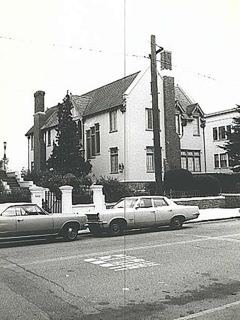 Hình ảnh khu biệt thự tại Dolores Heights trong quá khứ.