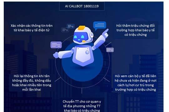 Hệ thống tổng đài Robot sẽ hoàn toàn miễn phí. Nhiều địa phương bắt đầu áp dụng cùng với các biện pháp khai báo y tế cũ như Bluezone, NCOVI.