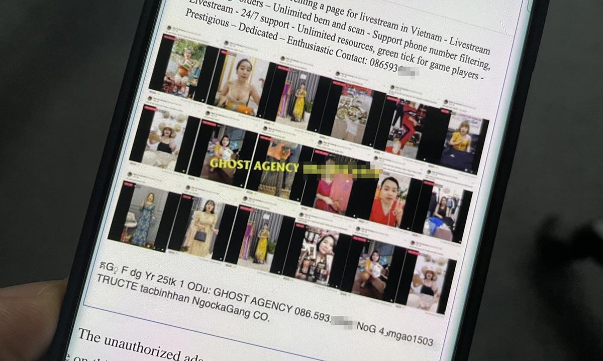 Nhóm người Việt sử dụng tài khoản Facebook chiếm được để làm dịch vụ chạy thuê quảng cáo cũng như quảng cáo cho sản phẩm của mình.