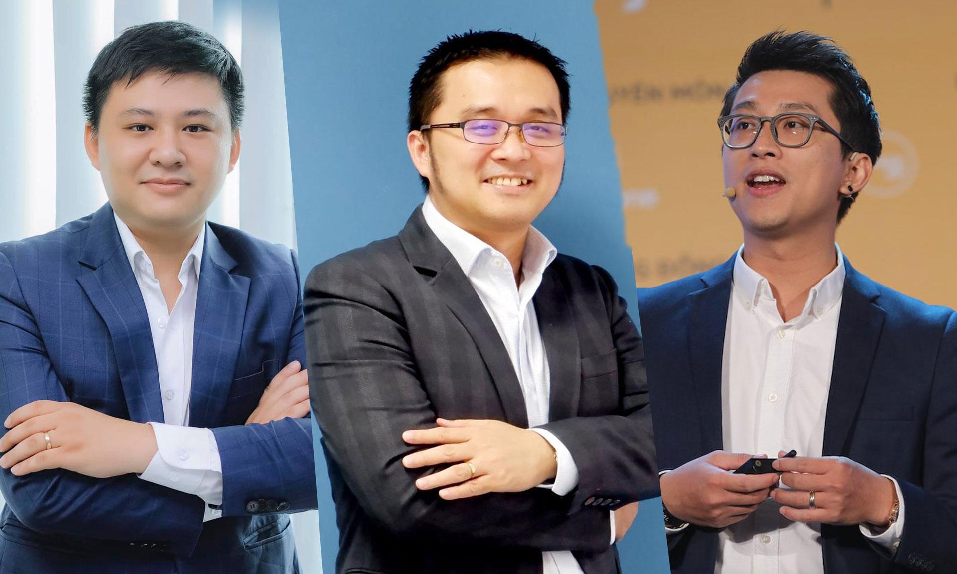 Các diễn giả trong CTO Talks ngày 15/6: Hồ Quốc Đạt, ông Nguyễn Hữu Quang, ông Cris D Trần.