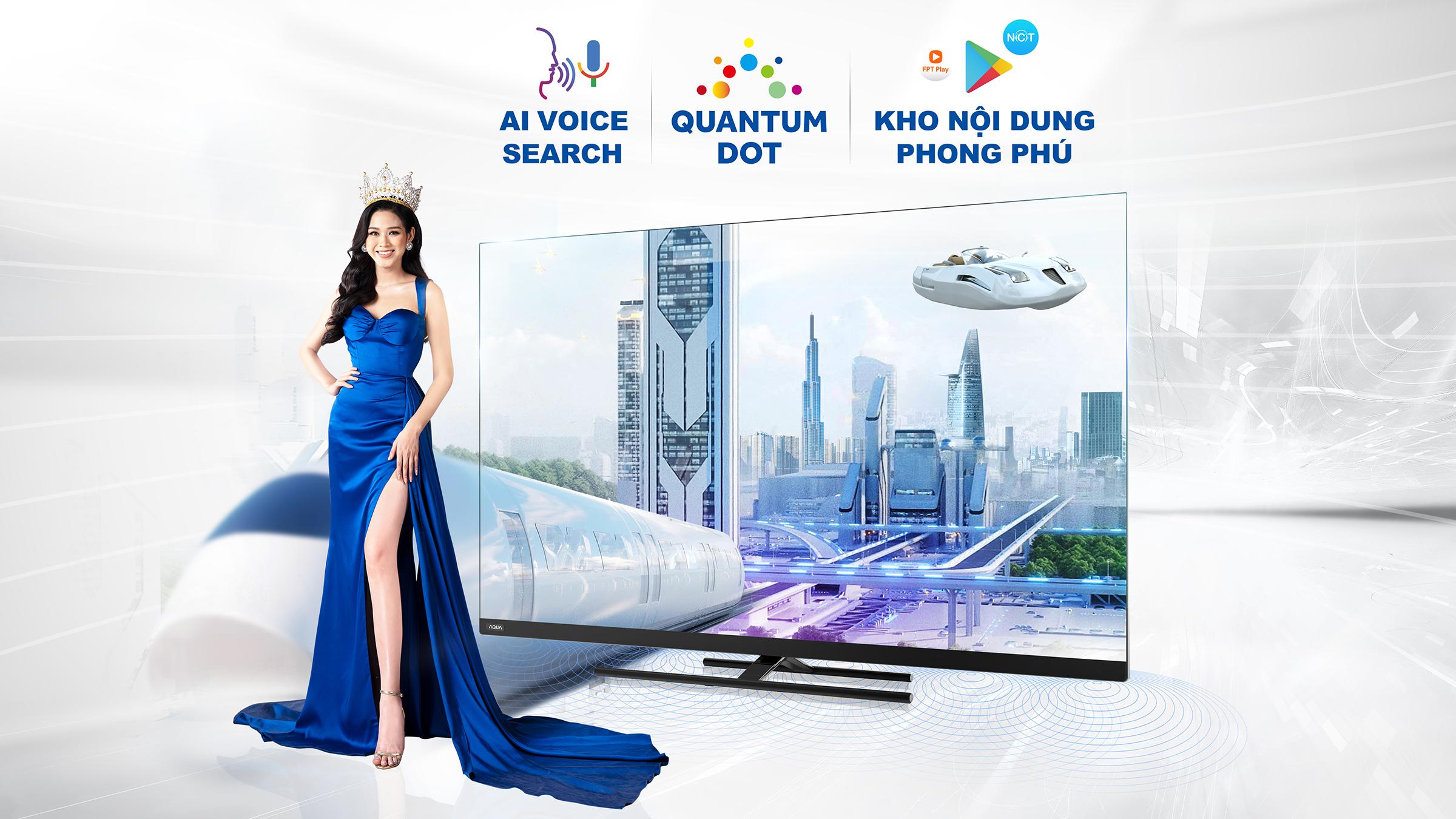 Hoa hậu Đỗ Thị Hà trở thành đại sứ thương hiệu Aqua cùng lan tỏa thông điệp về cuộc sống tiện nghi, chất lượng.