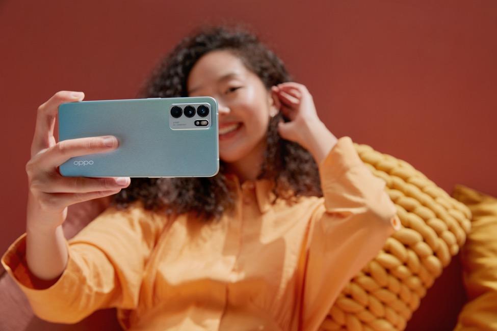 Oppo Reno6 Z 5G có thiết kế phù hợp với thế hệ trẻ. Ảnh: Oppo.