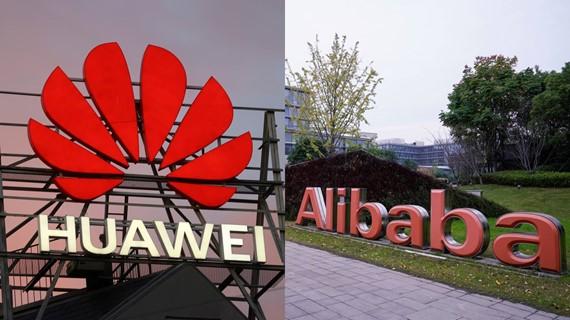 Thị phần của Huawei trên thị trường điện toán đám mây Trung Quốc đang tăng mạnh. Ảnh: Reuters.