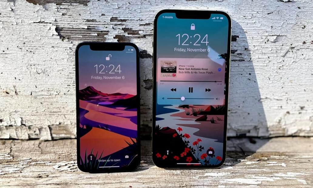 Các mẫu iPhone 12 của Apple. Ảnh: CNBC.