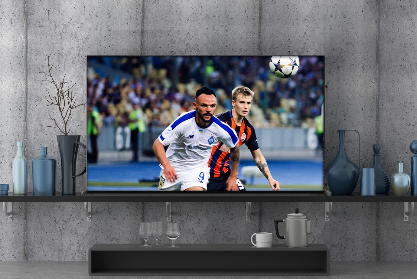 Công nghệ XR Clarity trên TV OLED A90J giúp hình ảnh có độ phân giải cao sắc nét.