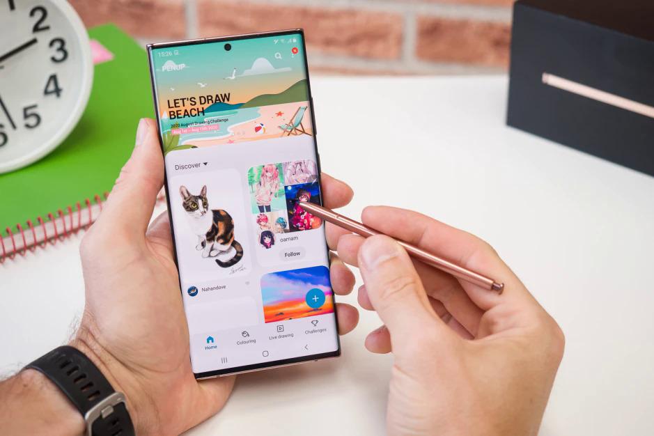 Galaxy Note sẽ không có bản nâng cấp trong năm nay. Ảnh: Phonearena