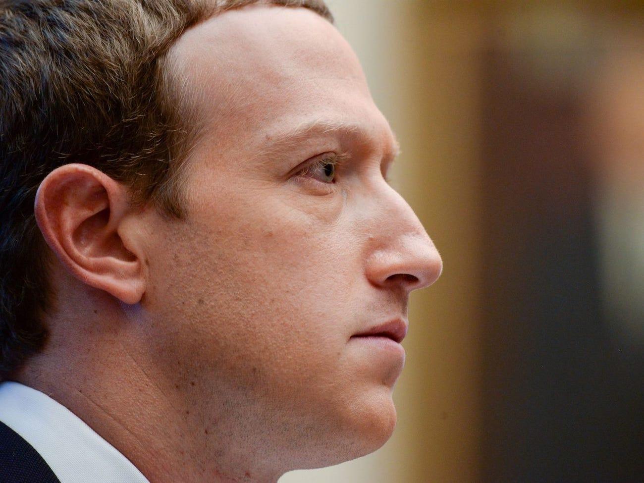 Chủ tịch, CEO Facebook - Mark Zuckerberg. Ảnh: Reuters