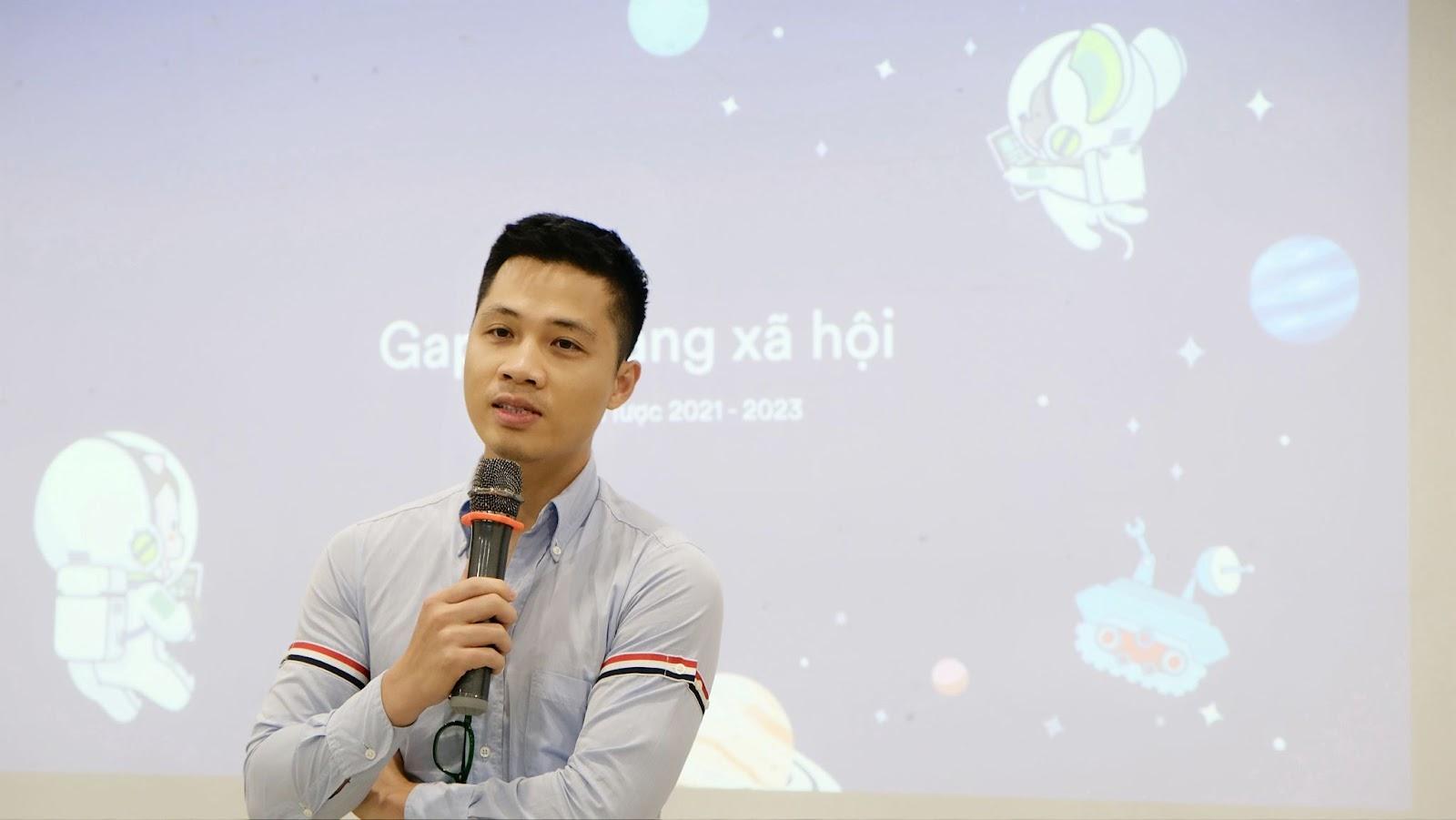 Ông Hà Trung Kiên - Tổng Giám Đốc, đồng sáng lập Mạng xã hội Gapo.
