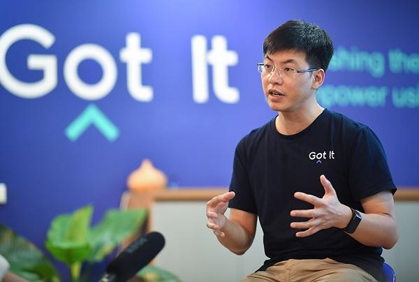 ông Hùng Trần, co-founder và CEO của Got It (startup từ Silicon Valley).