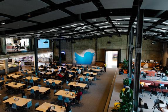 Trụ sở chính của Twitter tại San Francisco. Ảnh: Built-in.