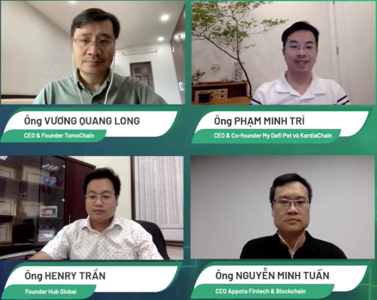 Bốn diễn giả trong CTO Talks ngày 10/8 trên VnExpress.