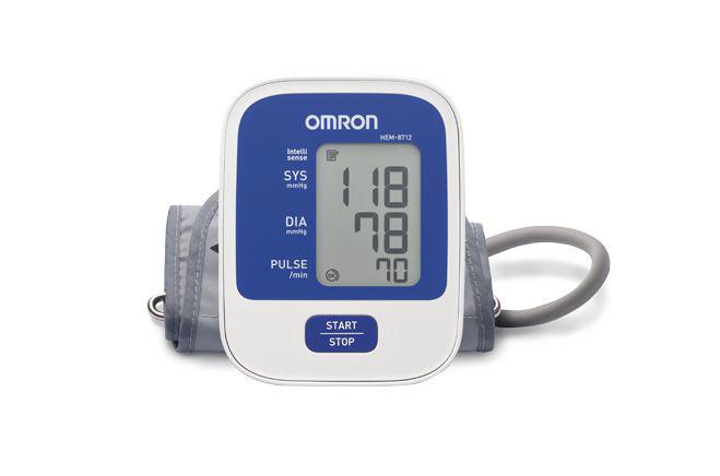 Máy đo huyết áp điện tử của thương hiệu Omron.