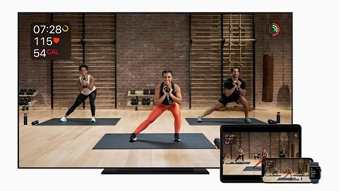 Một trong những trọng tâm chiến lược của Tim Cook là mở rộng các dịch vụ như Fitness +. Ảnh: Apple
