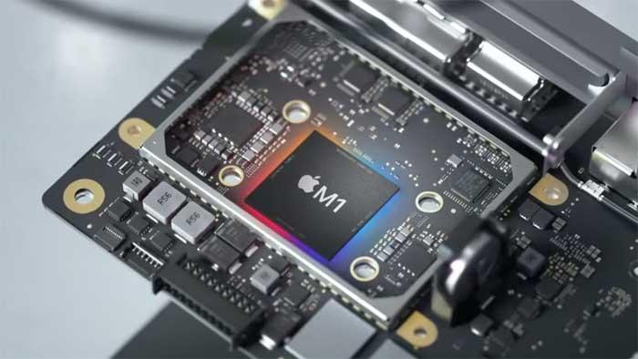 M1 - chip xử lý do Apple tự thiết kế.