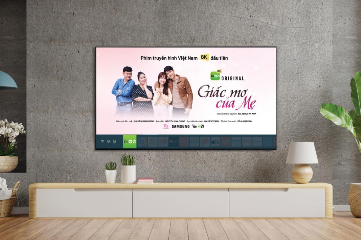 Samsung cùng VieON đem lại trải nghiệm nội dung phong phú cho người dùng.
