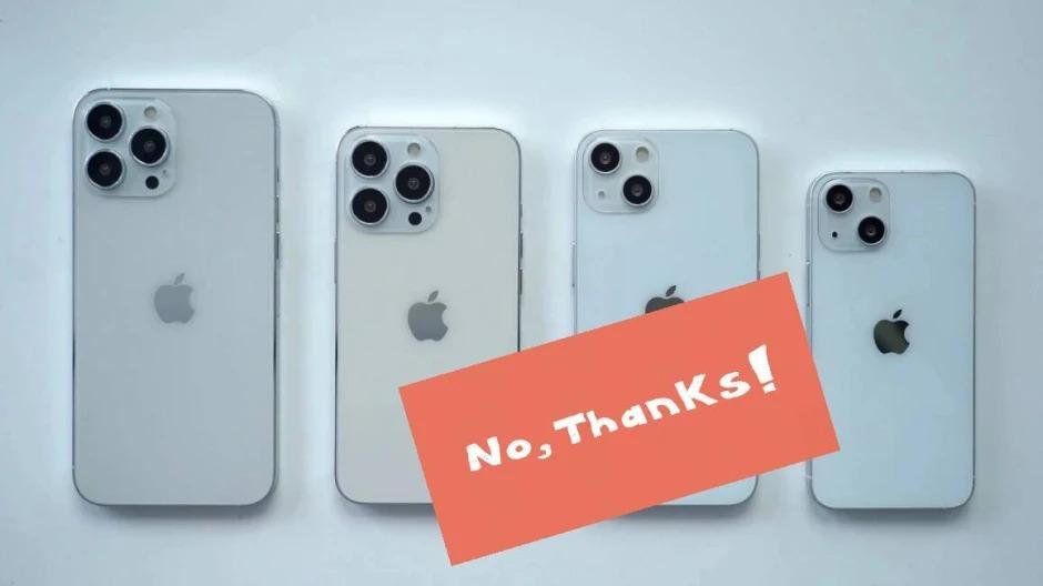 Người dùng Android ít quan tâm tới iPhone 13 sắp ra mắt của Apple. Ảnh: PhoneArena.