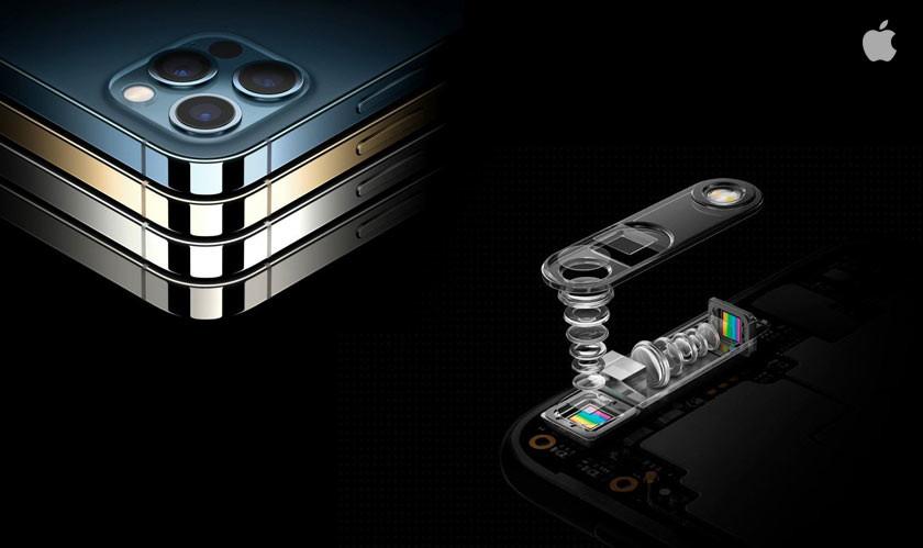 Apple đã nhận được sáng chế về camera tiềm vọng. Ảnh: Ciobulletin