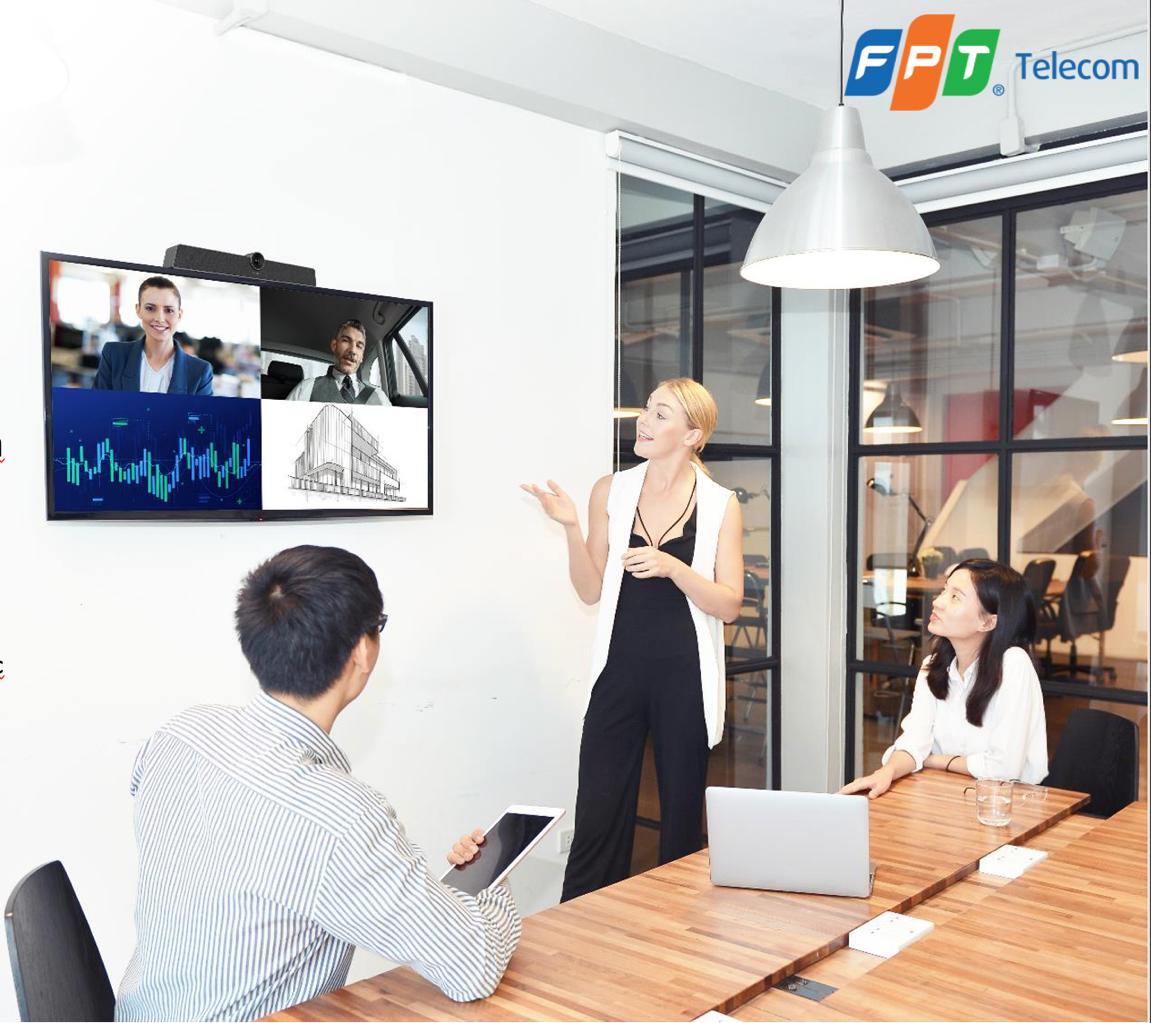 Tính năng đa dạng của OnMeeting tạo sự thuận tiện khi làm việc nhóm, chương trình đào tạo từ xa. Để có thêm thông tin, truy cập website hoặc hotline 19006973.