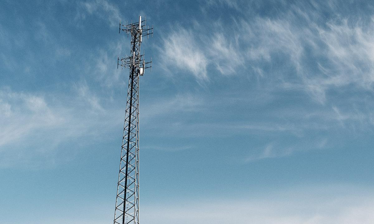 Một trạm phát sóng điện thoại ở bang Montana, Mỹ. Ảnh: Time.