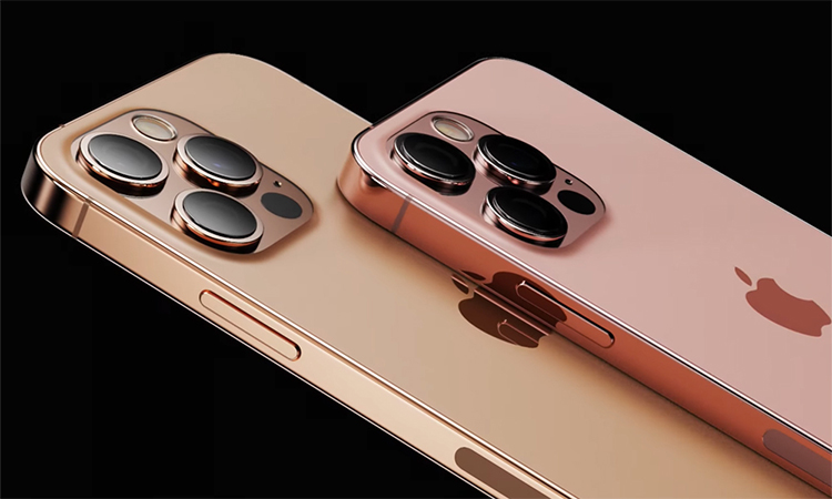 Ảnh dựng iPhone 13 với màu sắc mới. Ảnh: LetsGoDigital