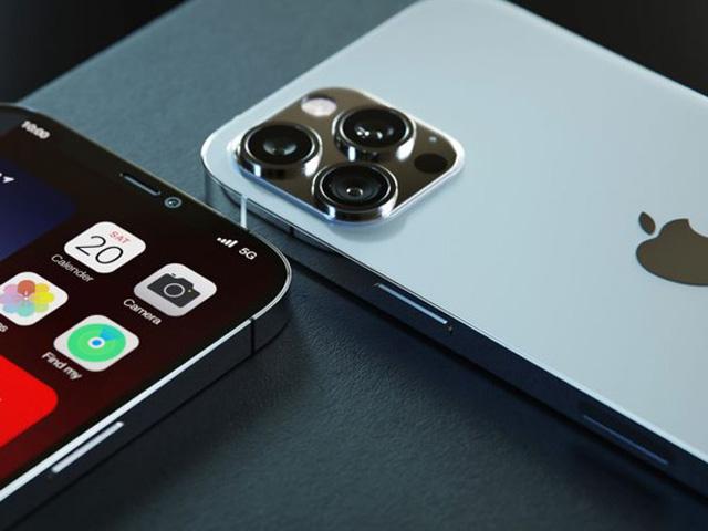 Ý tưởng một mẫu iPhone 13 với cụm camera lớn. Ảnh: Letsgo Digital