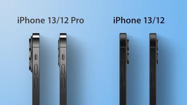 iPhone 13 có thể dày hơn một chút so với iPhone 12. Ảnh: MacRumors