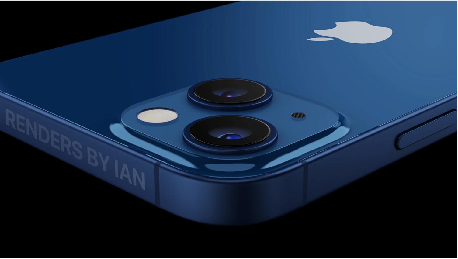 Bản dựng iPhone 13 của Ian.