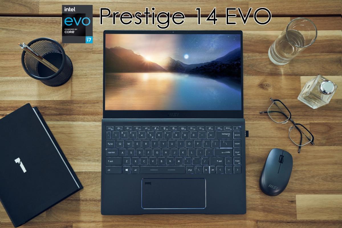 Sản phẩm Prestige 14 Evo.