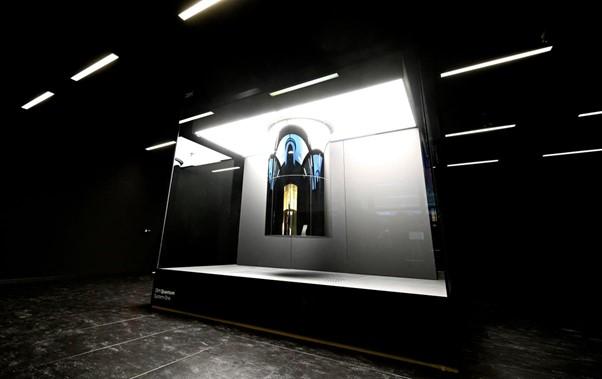 Máy tính lượng tử được sử dụng thương mại đầu tiên của IBM. Ảnh: AP