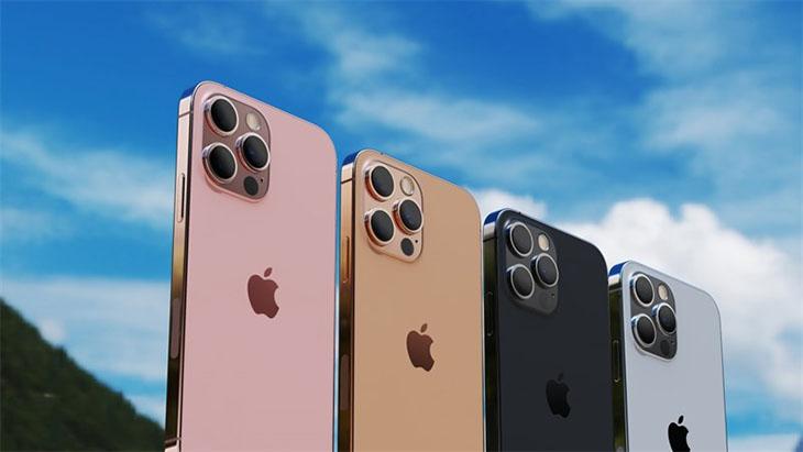 Loạt iPhone 13 sẽ được nâng cấp về dung lượng lưu trữ. Ảnh: Letsgo Digital