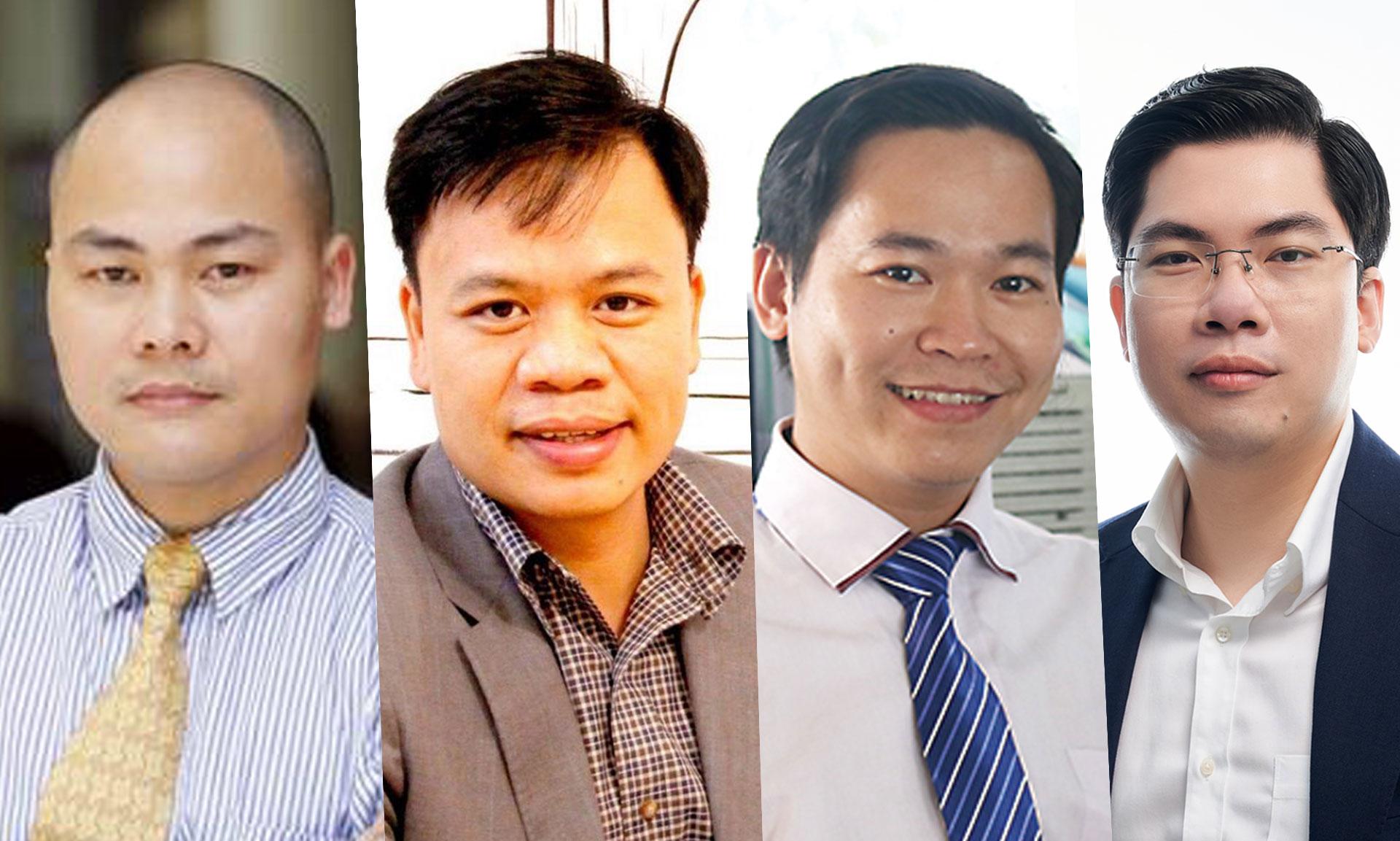 Các diễn giả tham gia CTO Talks số 23:, ông Nguyễn Tử Quảng, ông Nguyễn Thế Trung, ông Lê Nhật Quang, ông Phạm Nam Long.