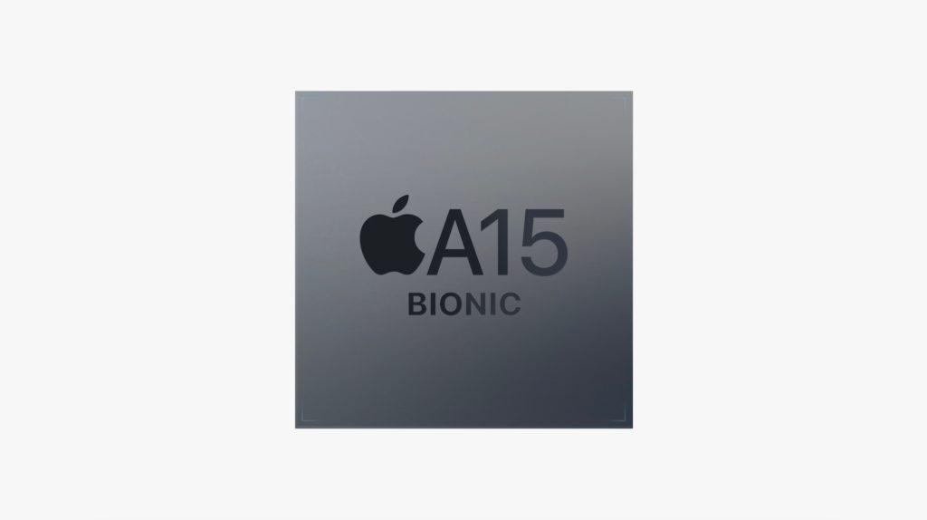 Chip Apple A15 Bionic được sản xuất trên tiến trình 5nm. Ảnh: Apple