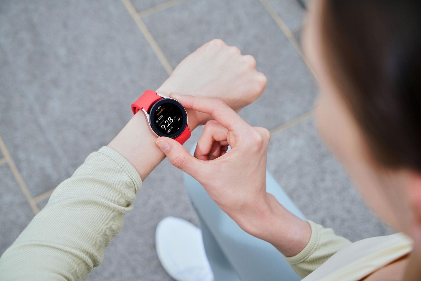 Đồng hồ có khả năng phân tích các thành phần trong cơ thể với thời gian 15 giây.