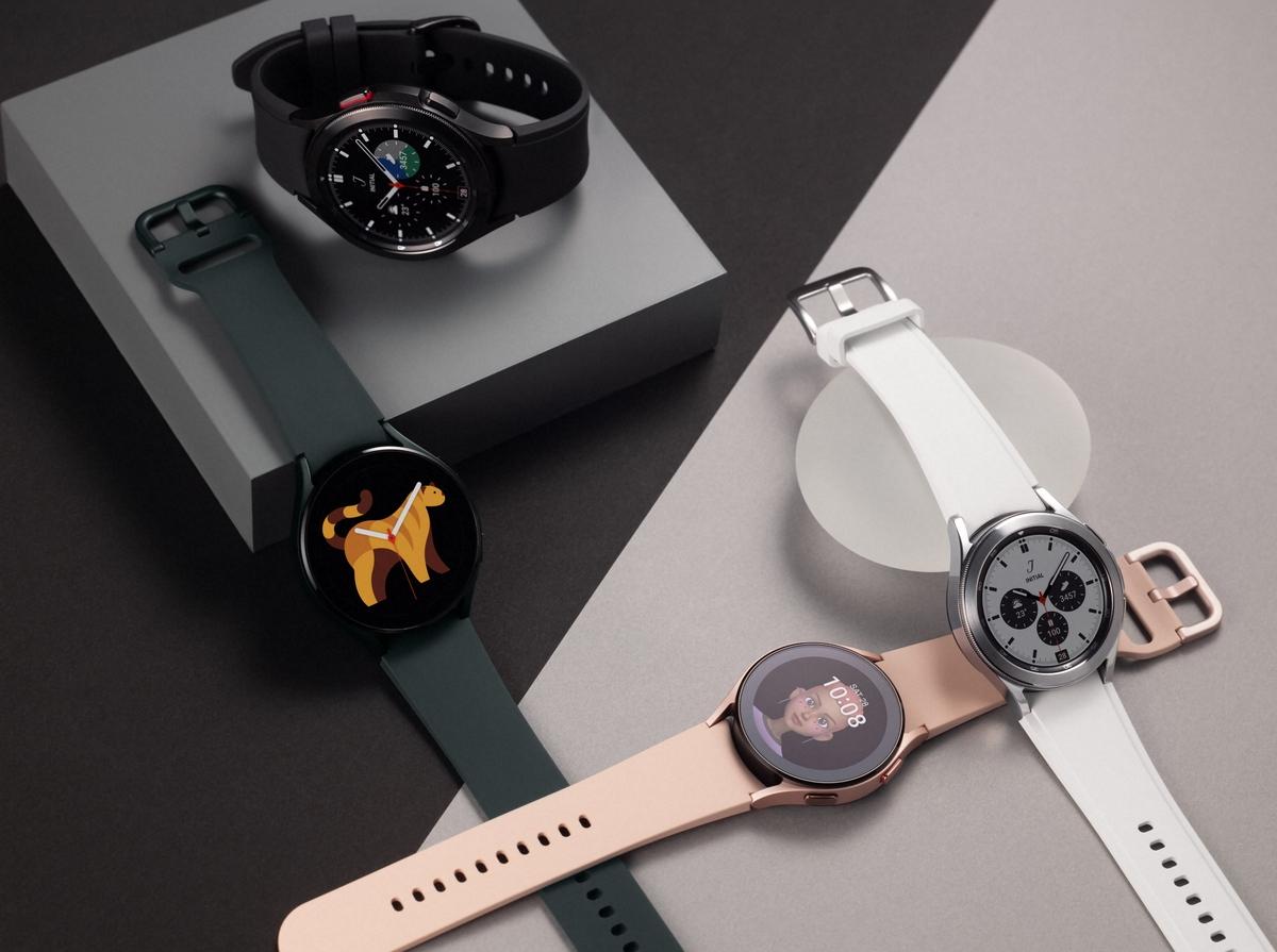 Galaxy Watch 4 series là dòng smartwatch đầu tiên chạy WearOS mới. Ảnh: Samsung.