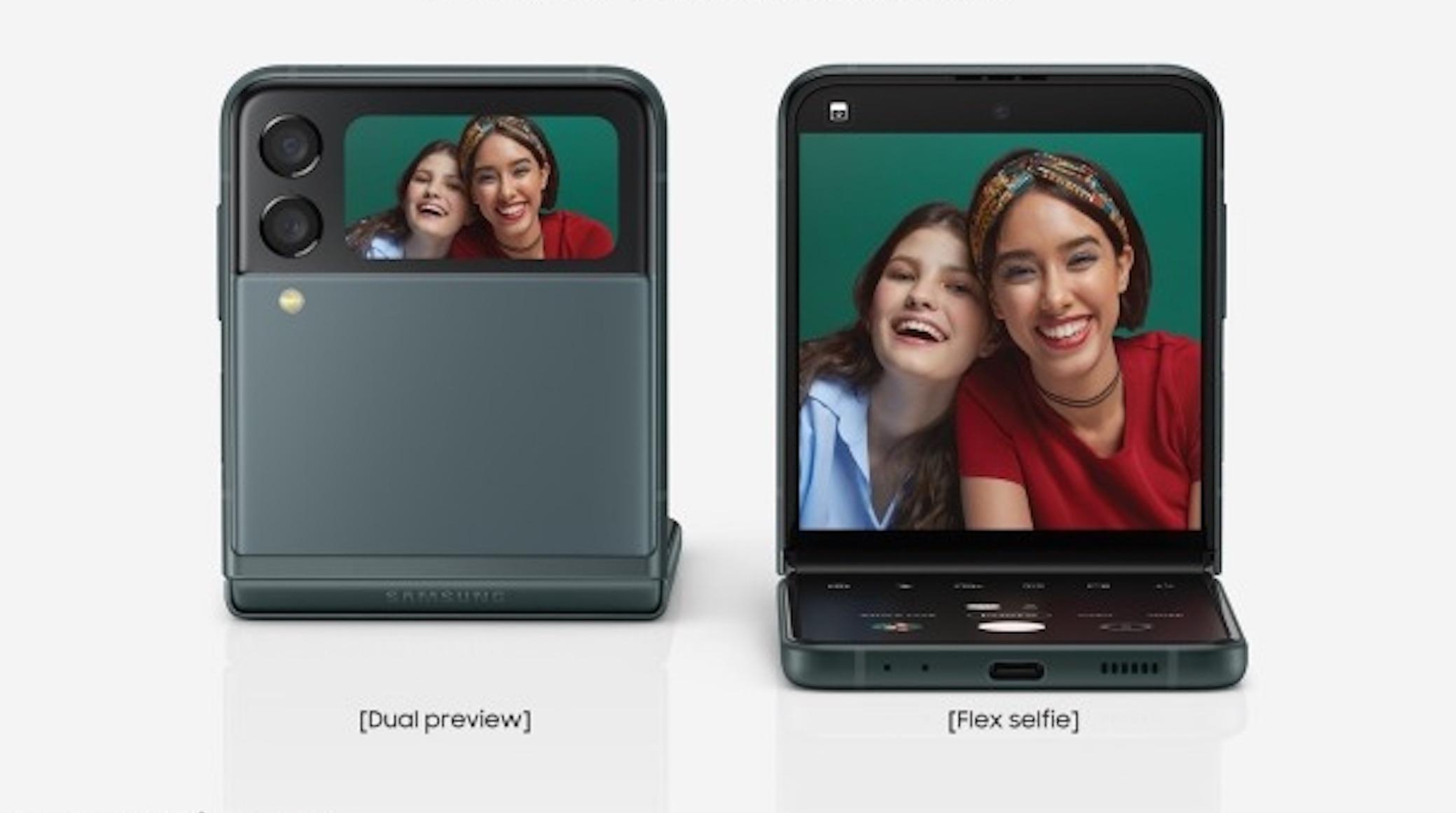 Người dùng có thể xem ảnh chụp mà không cần mở máy, chụp selfie rảnh tay.