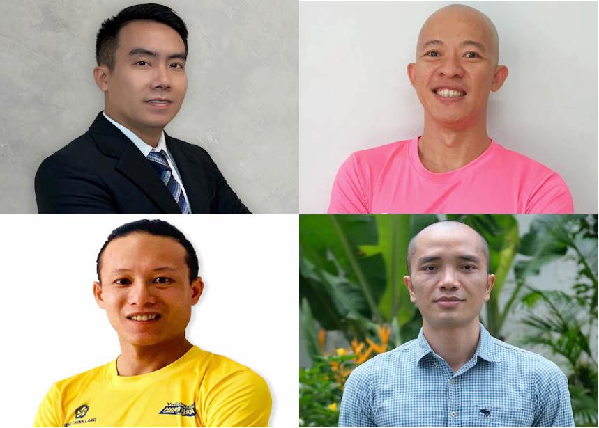 Bốn diễn giả tham gia toạ đàm ngày mai: ông Ngô Mạnh Cường, ông Trần Đình Minh Anh, ông Simon Hồ và ông Nguyễn Hải Đăng.