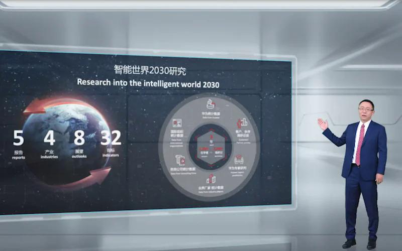 David Wang, CEO kiêm Chủ tịch sản phẩm và giải pháp CNTT-TT của Huawei, chia sẻ những dự đoán của hãng về thế giới thông minh năm 2030.