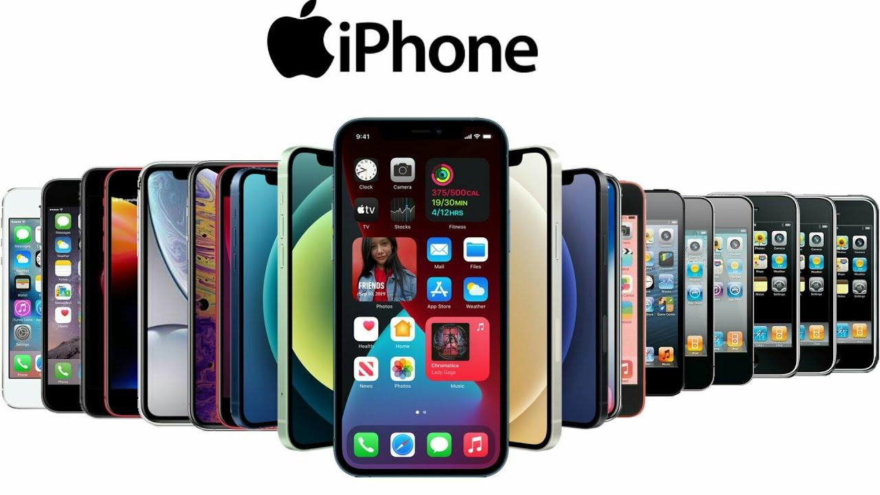 Apple đã ra tổng cộng 17 thế hệ iPhone kể từ iPhone 2G (2007). Ảnh: Apple