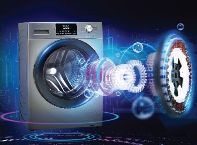 Máy giặt lồng ngang Aqua có chế độ bảo hành động cơ trọn đời, nâng cao tuổi thọ của máy.
