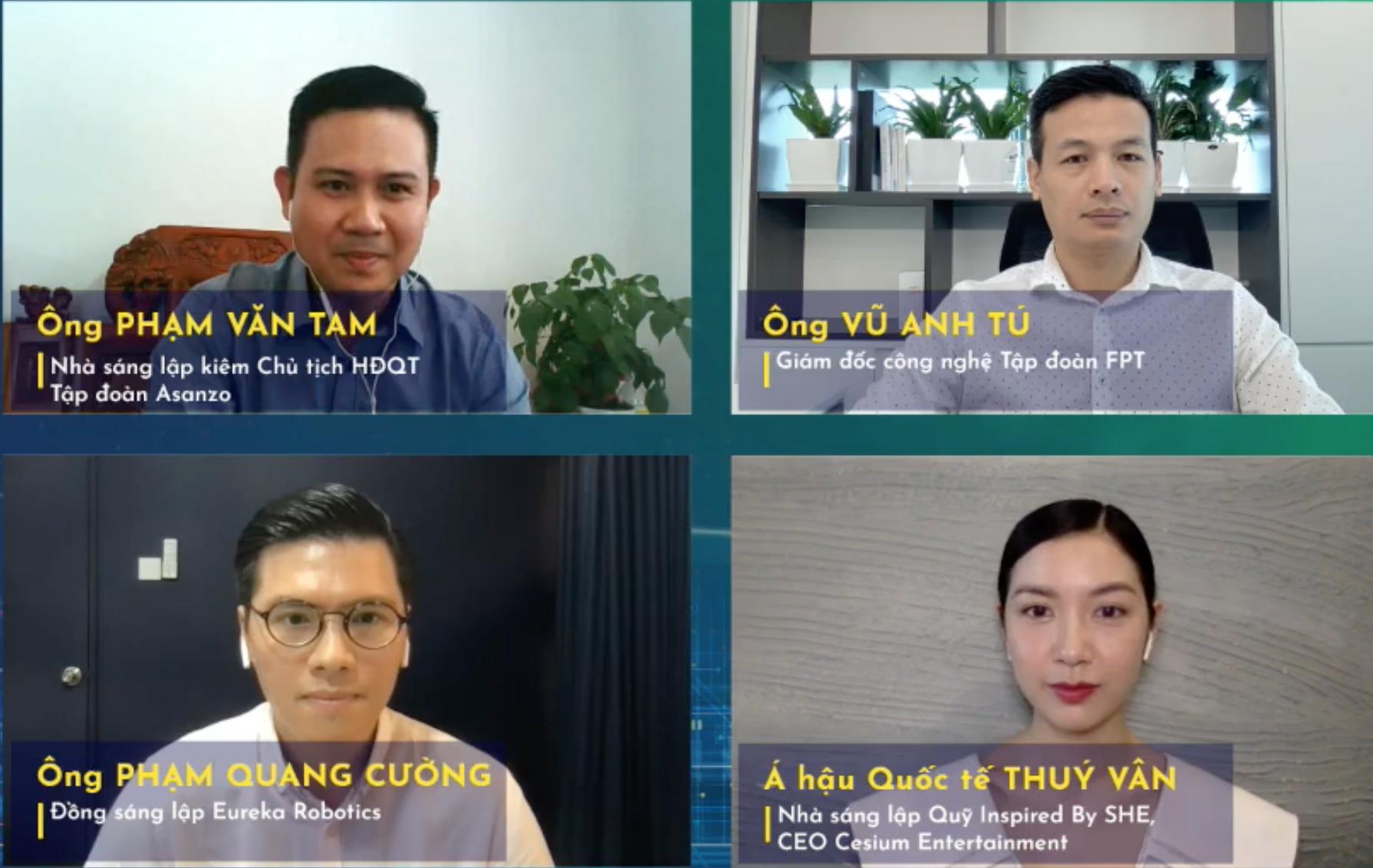 Bốn diễn giải trong CTO Talks ngày 7/10 trên Vnexpress bàn về mô hình làm việc mới đang được hình thành ra sao.