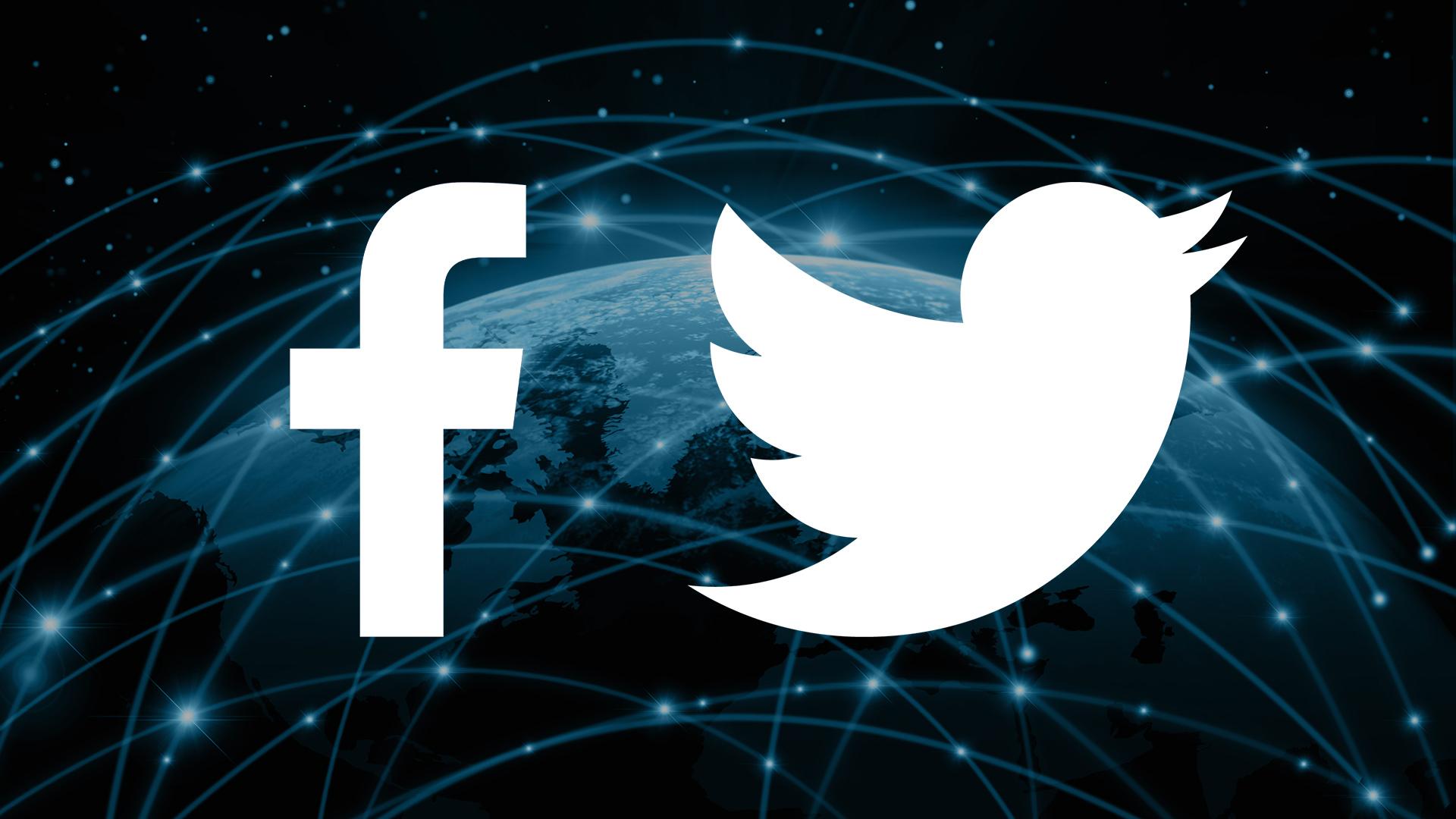 Facebook và Twitter là hai ứng dụng không được giới trẻ Mỹ yêu thích. Ảnh: Martech