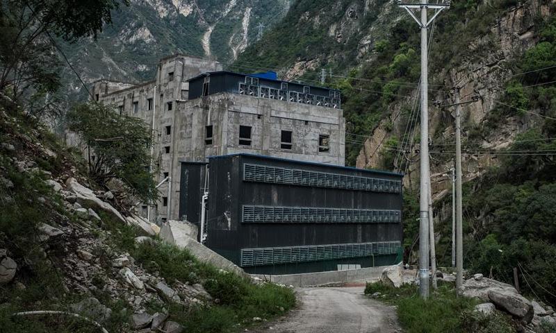 Một mỏ đào Bitcoin ở Tứ Xuyên trước khi chính quyền áp lệnh cấm. Ảnh: AFP.
