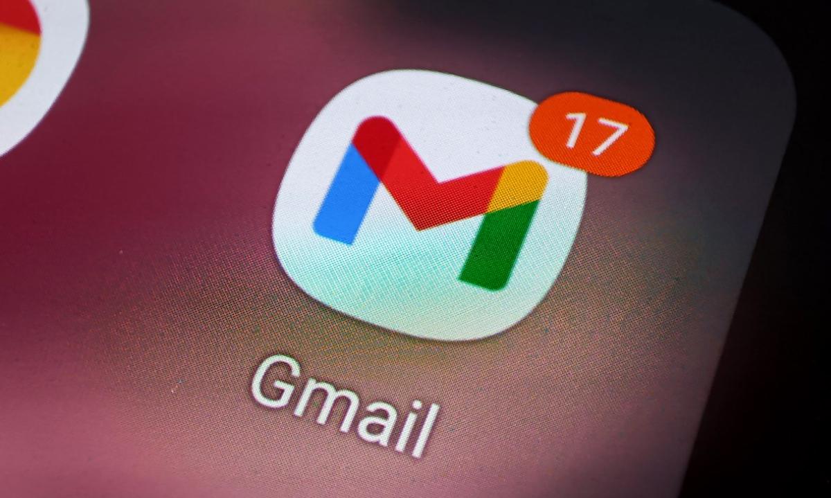 Tin tặc gửi email lừa đảo đến tài khoản Gmail của mục tiêu. Ảnh: Lưu Quý