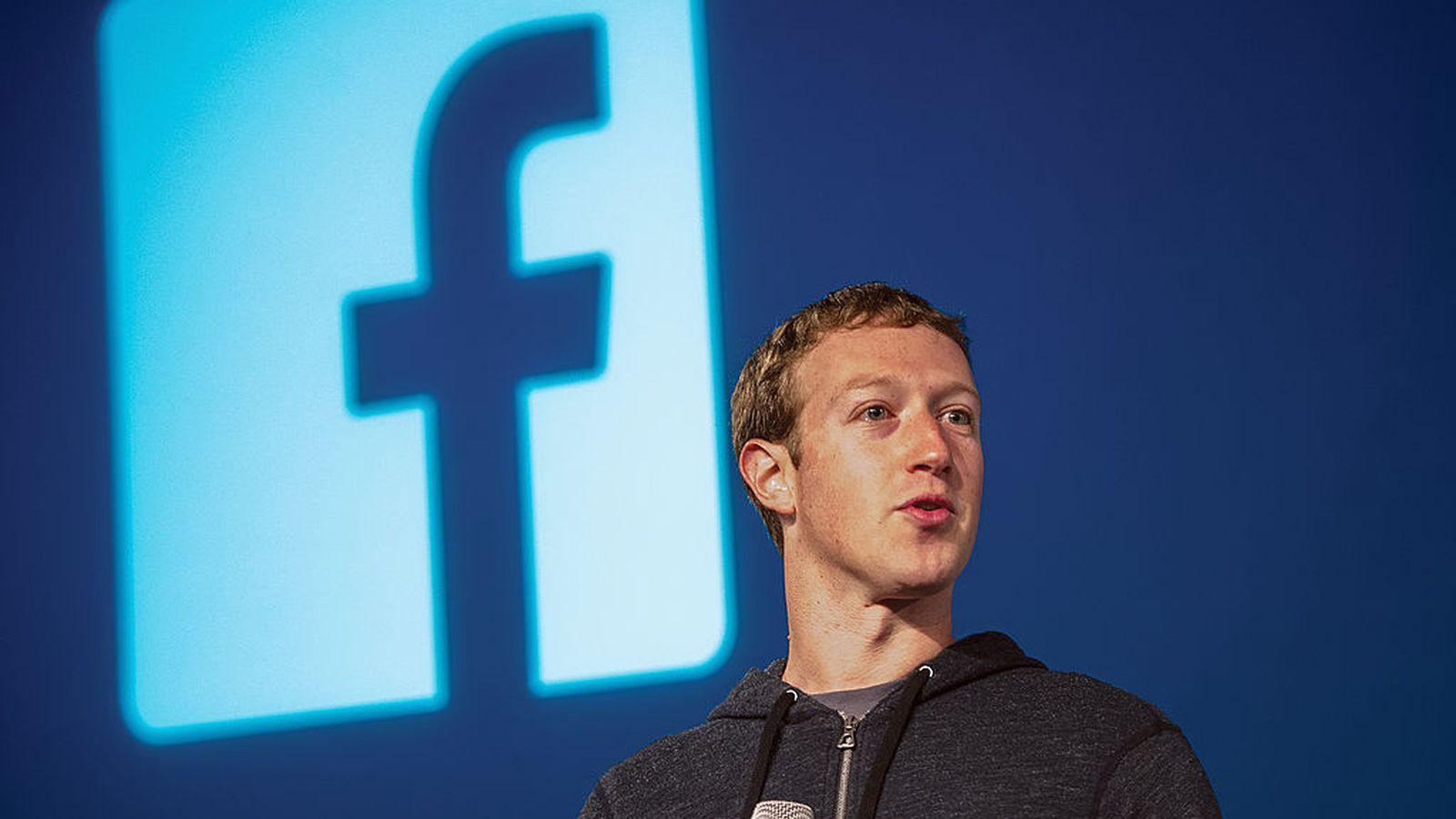 CEO Facebook Mark Zuckerberg. Ảnh: Reuters