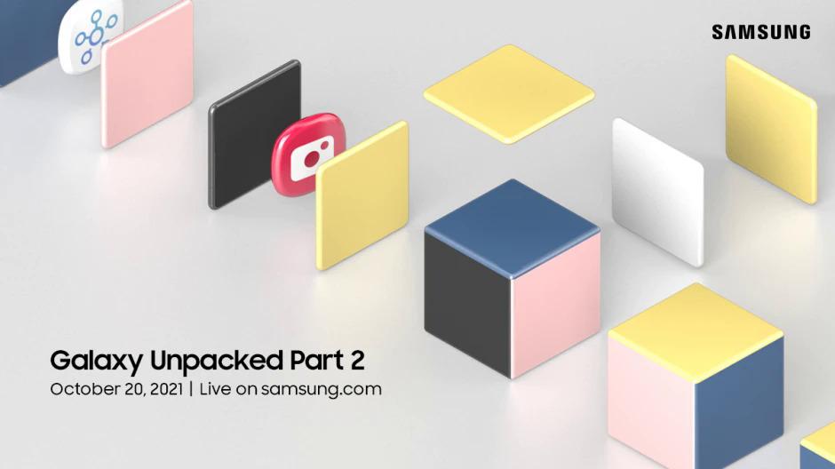 Thư mời sự kiện Galaxy Unpacked của Samsung